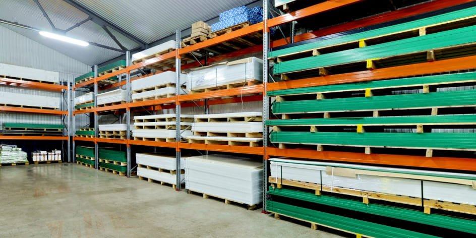 Вид поставки материалов Plastmass Group: листы, трубы, прутки, готовые детали и решения.
